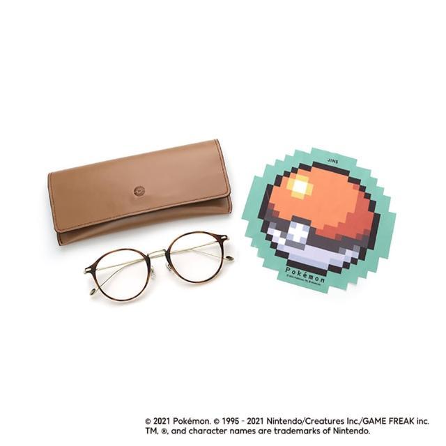 【JINS】Pokemon 寶可夢聯名眼鏡-伊布款(AUUF21S133)