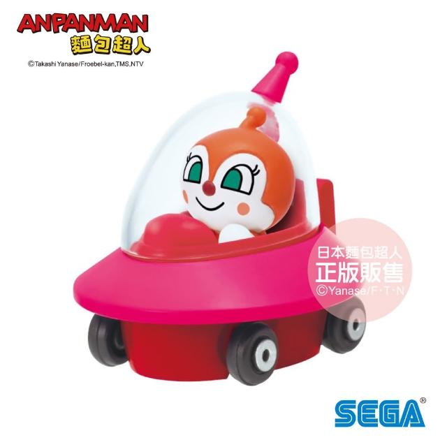 【ANPANMAN 麵包超人】NEW! GOGO小汽車 紅精靈UFO&紅精靈(3歲-/公仔)