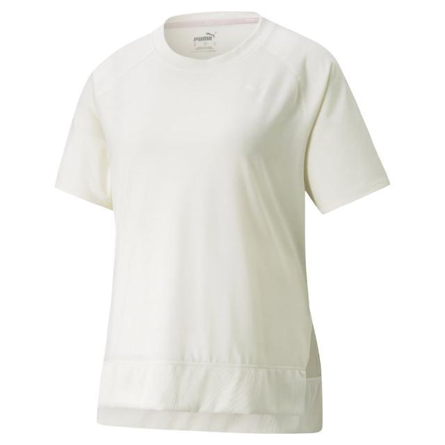 【PUMA】瑜珈系列Studio寬鬆長版短袖T恤 女性 52098373