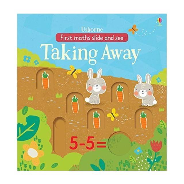 【Song Baby】First Maths Slide And See Taking Away 第一本算數操作書:減法篇(操作書)