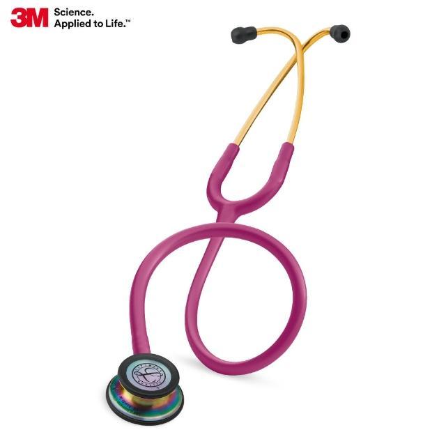 【3M】Littmann 5806 一般型第三代聽診器 冰莓紅色管/炫彩聽頭(聽診器)