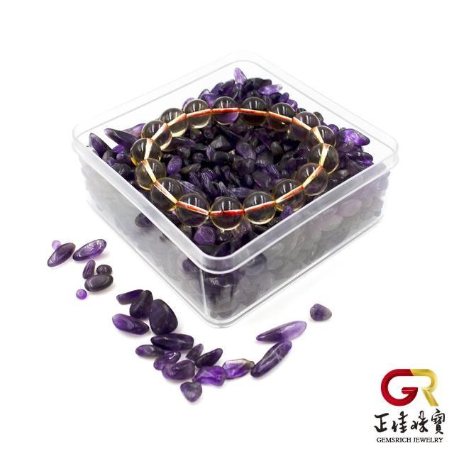 【正佳珠寶】紫水晶 消磁淨化水晶方盒(智慧能量寶石)