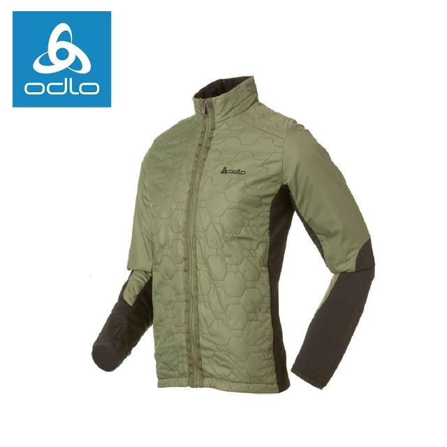 【ODLO】男Primaloft彈性保暖外套522476-草綠48900