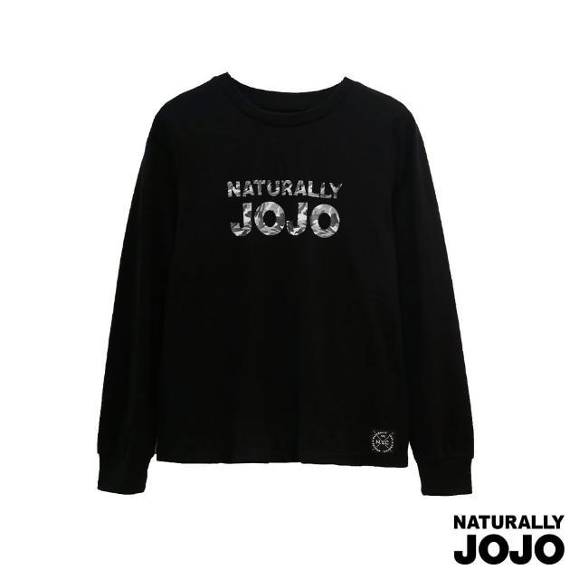 【NATURALLY JOJO】迷彩JOJO長袖T(黑)