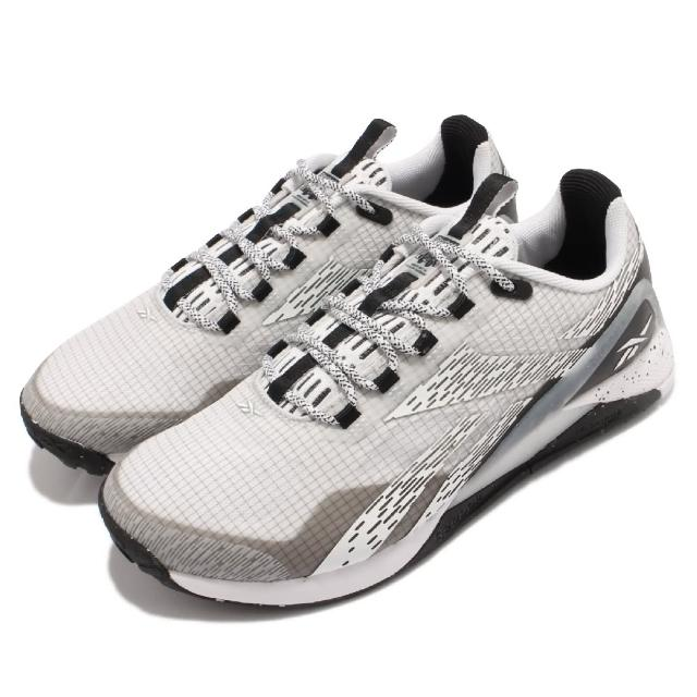 【REEBOK】訓練鞋 Nano X1 TR Adventure女鞋 室內外訓練 支撐 穩定 包覆 運動 灰 白(GW2831)