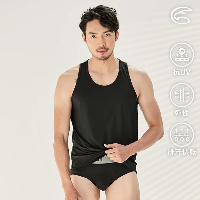 【ADISI】男Tactel Pro快乾排汗窄肩背心AV2111188(防曬 UPF50+ 抗紫外線 彈性 速乾 透氣 輕量)