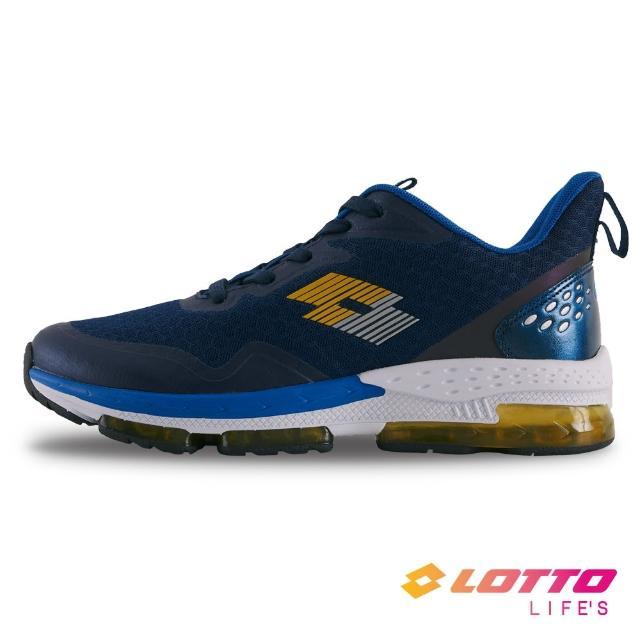 【LOTTO】男 SPACE 270 避震膠跑鞋(藍-LT1AMR3616)