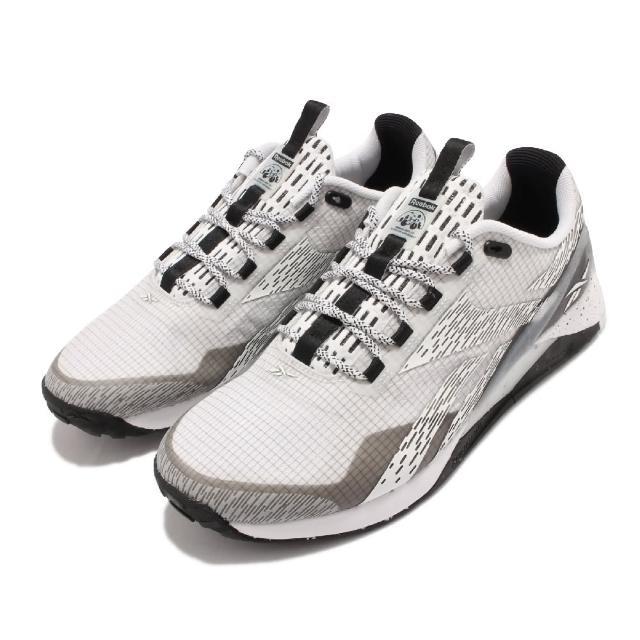 【REEBOK】訓練鞋 Nano X1 TR Adventure男鞋 室內外訓練 支撐 穩定 包覆 運動 灰 白(GW2833)
