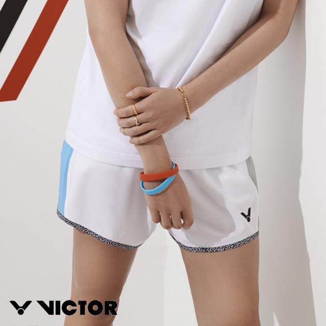 【VICTOR 勝利體育】2021 CROWN COLLECTION戴資穎專屬系列 運動訓練短褲 女款(R-CC109 A 白)