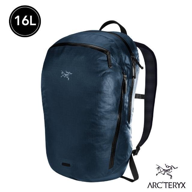 【Arcteryx 始祖鳥】Granville 16L 多功能拉鍊型 後背包(幸運藍)