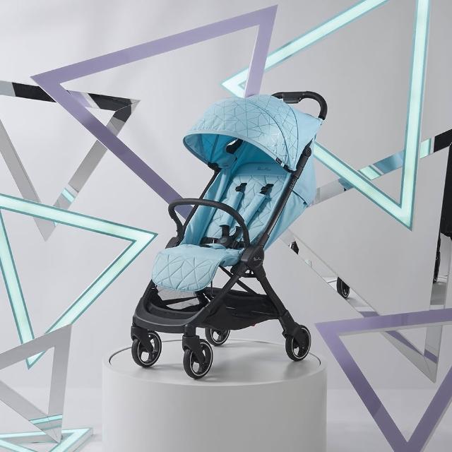 【SilverCorss】Clic 輕量瞬收 可登機 可平躺 嬰兒手推車 0m+(多色可選)