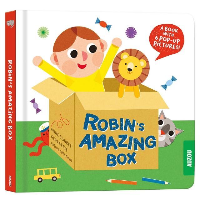 【Song Baby】Robin's Amazing Box 羅賓的神奇紙箱(立體書)