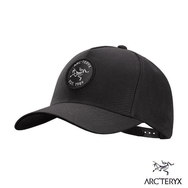 【Arcteryx 始祖鳥】Bird Patch 五分割 棒球帽(黑)