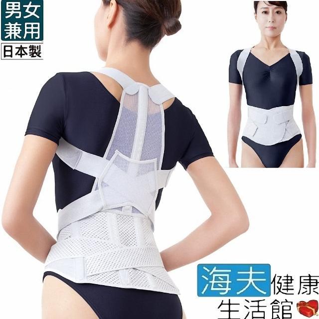 【海夫健康生活館】百力軀幹裝具 未滅菌 ALPHAX 腰背支撐帶 日本製