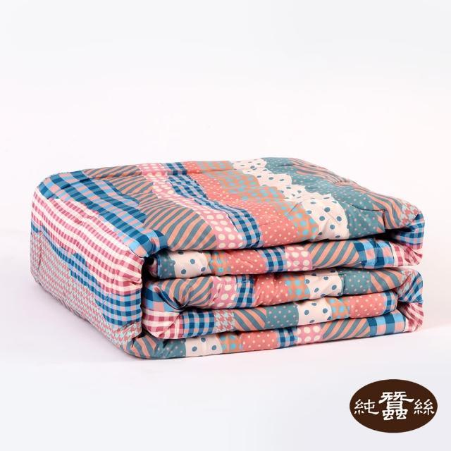 【岱妮蠶絲】精美數位印花絲棉緞蠶絲涼被0.7KG-PHS38E01GE(童話故事)
