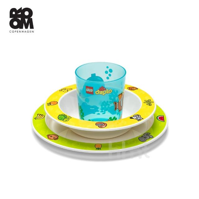 【Room Copenhagen】LEGO Tableware Set Duplo 樂高得寶嬰兒餐具組(樂高正式授權商品)