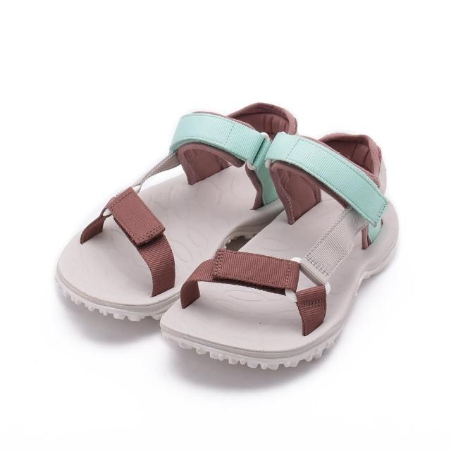 【MERRELL】KAHUNA WEB 水陸涼鞋 淺綠/粉 女鞋 ML002558