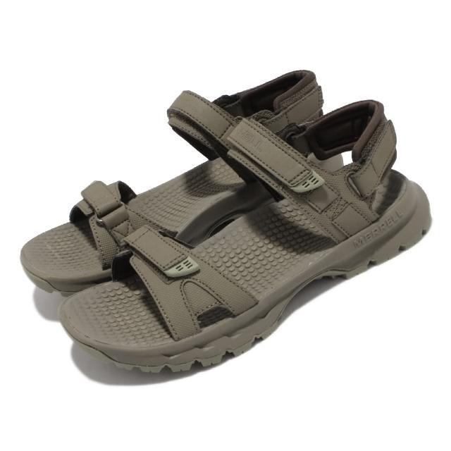 【MERRELL】涼鞋 Cedrus Convert 3 女鞋 緩衝 舒適 內嵌式避震墊片 穩定 耐磨 綠 灰(ML036240)