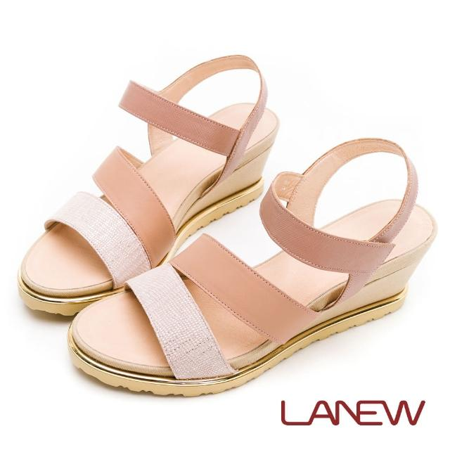 【La new】輕量楔型鞋 涼鞋(女56270635)