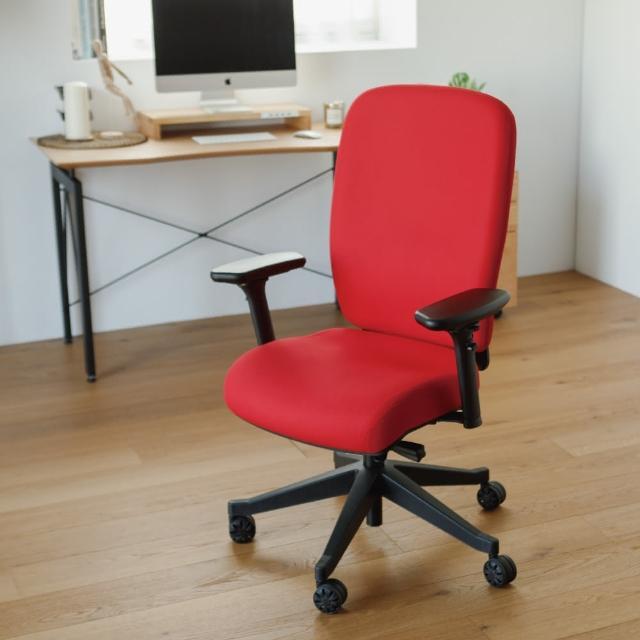 【PEACHY LIFE 完美主義】德國設計4D人體工學美姿電腦椅/辦公椅/書桌椅