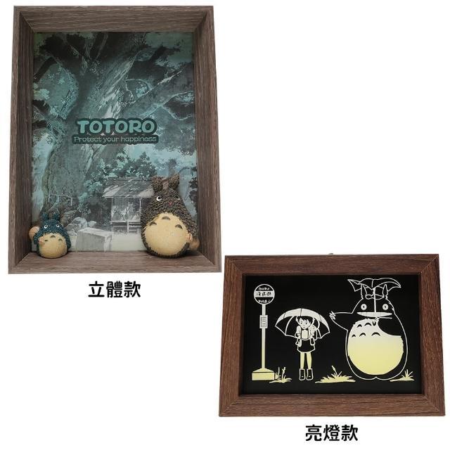 【TDL】宮崎駿龍貓totoro木紋立體相框擺飾公仔 028357