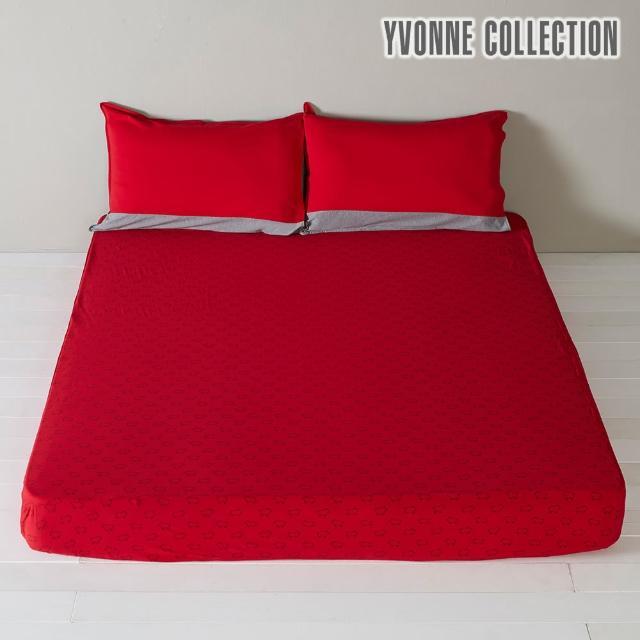 【Yvonne Collection】純棉印花雙人床包(多款任選)