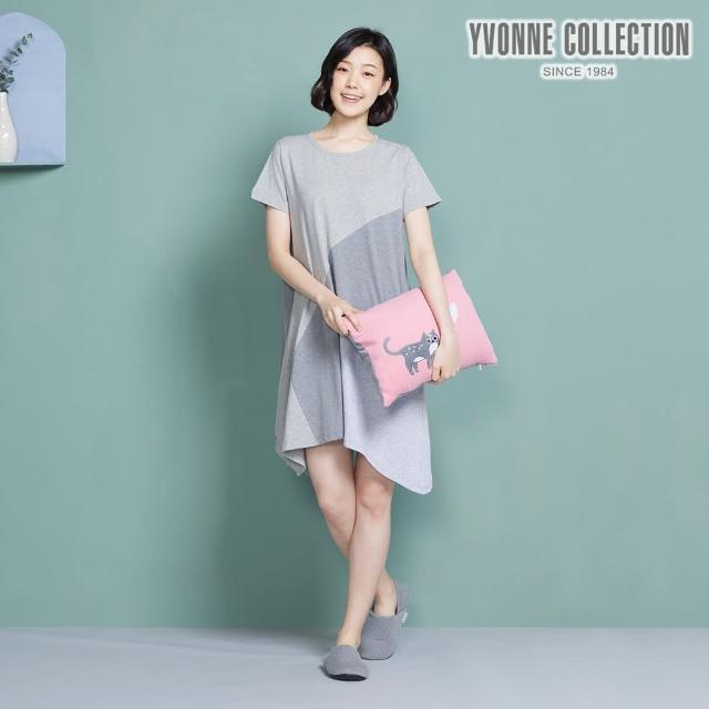 【Yvonne Collection】愛心石虎方形抱枕(活力粉)