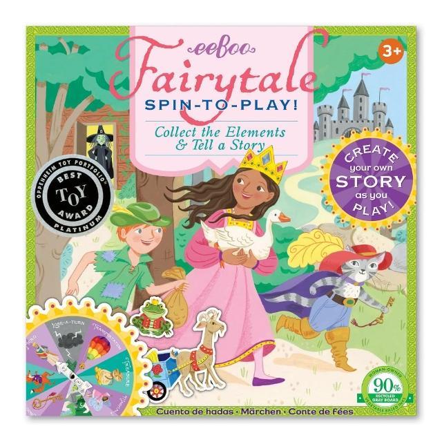 【eeBoo】Fairytale Spinner Game(童話故事桌遊)