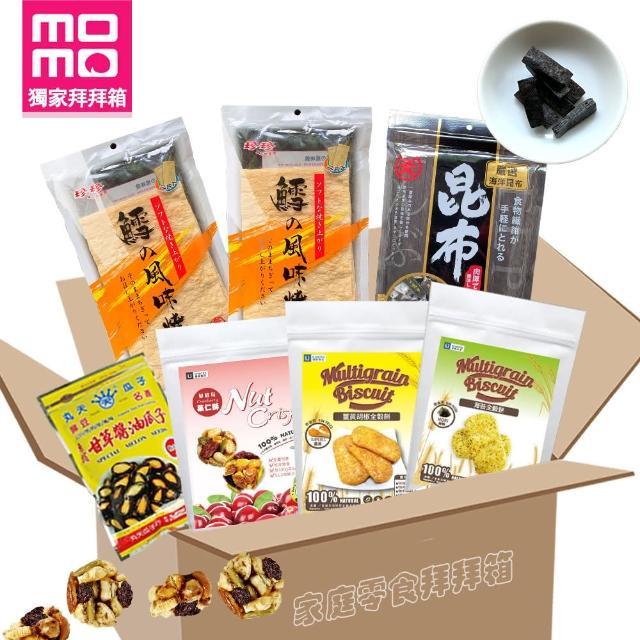 【中元普渡】momo獨家。中元零食箱7件組(拜拜免煩惱)