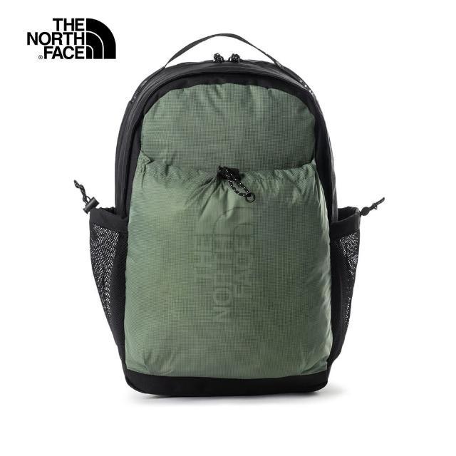 【The North Face】The North Face北面男女款綠色便捷舒適休閒後背包|52TBGCC