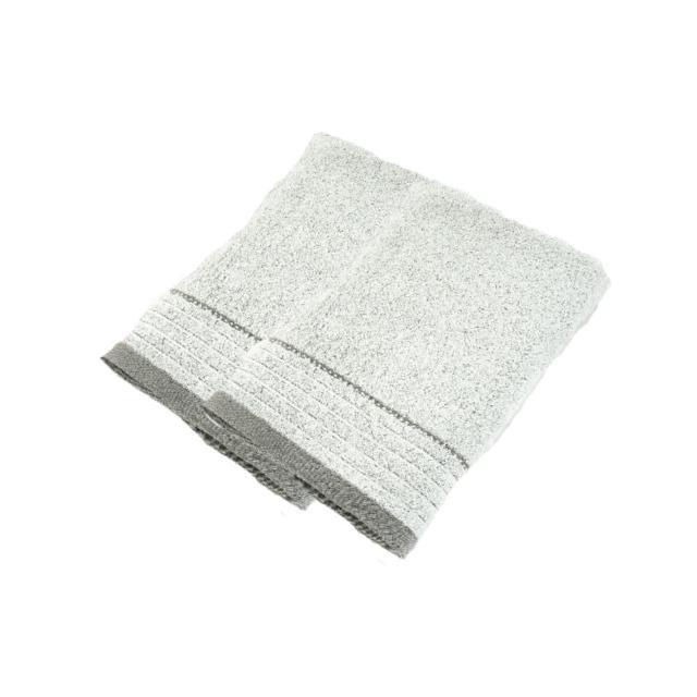 【台灣興隆毛巾】炭極簡奈米銀竹炭浴巾 2入單色(浴巾)
