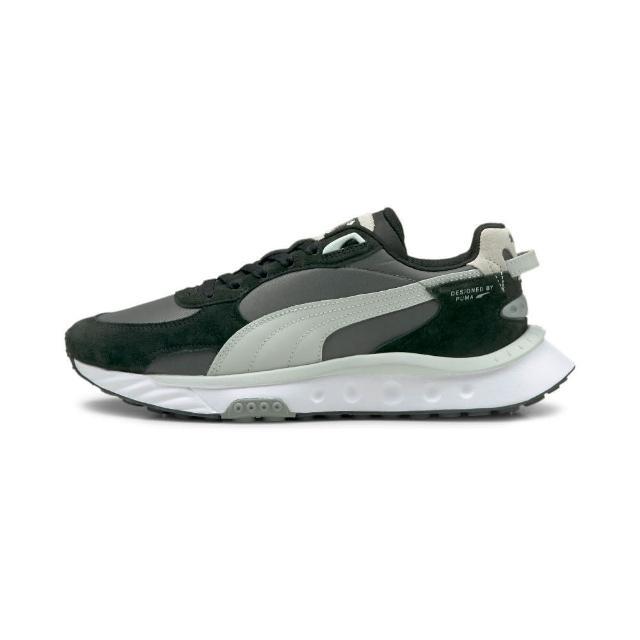 【PUMA】運動鞋 男鞋 女鞋 慢跑鞋 Wild Rider Rollin 黑灰 38151702