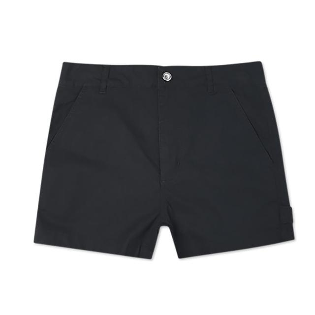 【CONVERSE】短褲 女款 休閒 CARPENTER 黑 10021475-A02