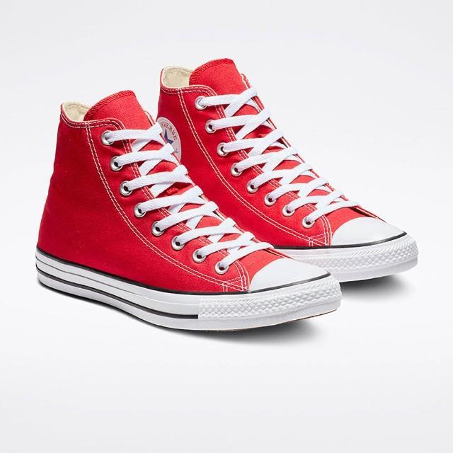 【CONVERSE】休閒鞋 男女鞋 帆布鞋 高筒 ALL STAR HI 紅 M9621C