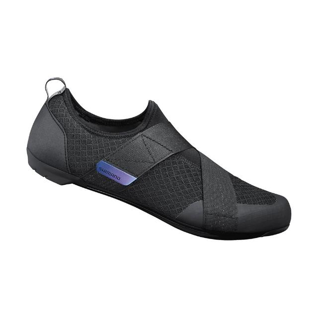 【SHIMANO】IC100 女款飛輪車鞋 黑色