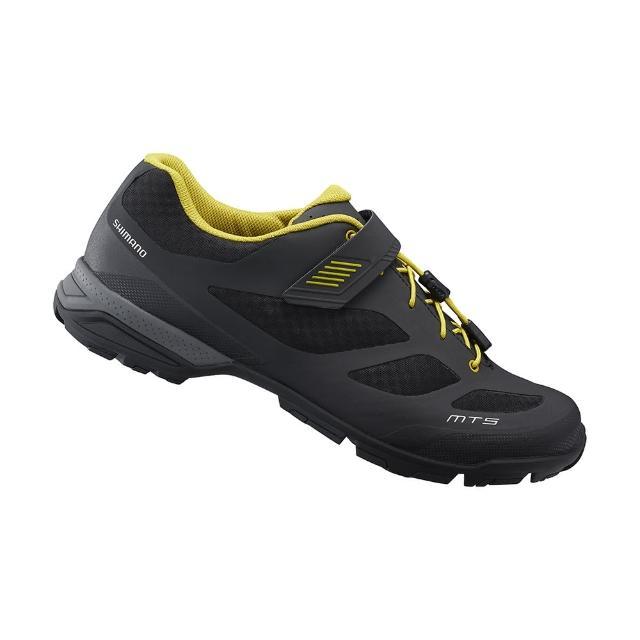 【SHIMANO】MT501 男款登山旅行車鞋 加大旅行鞋楦 黑色
