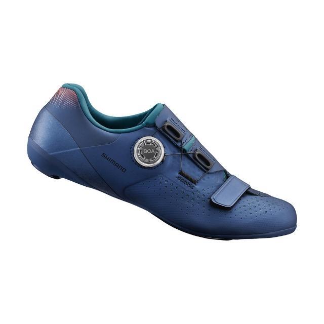 【SHIMANO】RC500W 女性公路車鞋 海軍藍