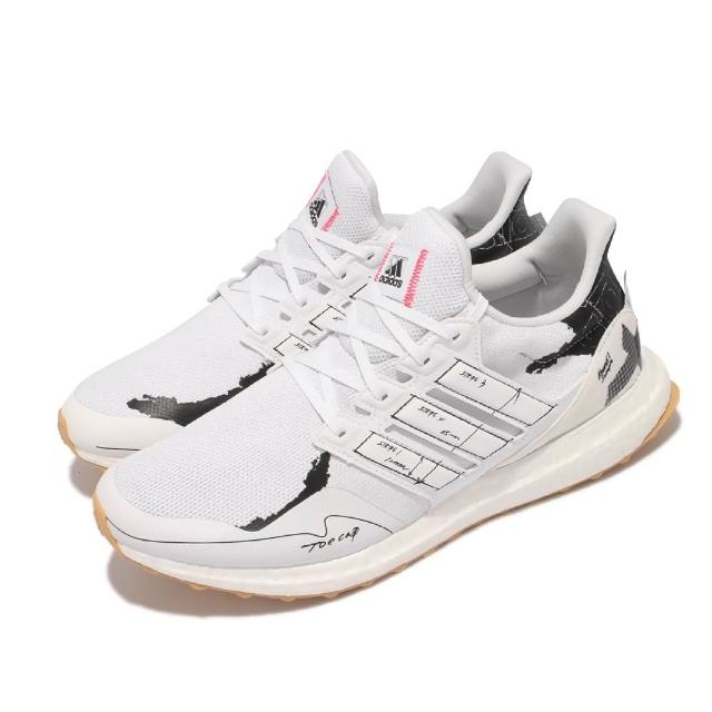 【adidas 愛迪達】慢跑鞋 UltraBOOST Clima U 男鞋 愛迪達 襪套 避震包覆 路跑 運動 健身 白 黑(GY0524)