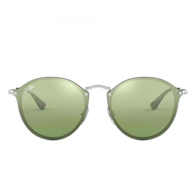 【RayBan 雷朋】熾焰圓框款綠色鏡片(3574N-0033O)