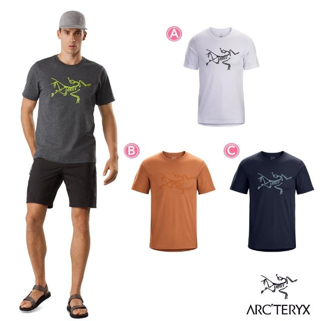 【Arcteryx 始祖鳥】男 24系列 Archaeopteryx 100%有機棉 短袖休閒Tee(3色)