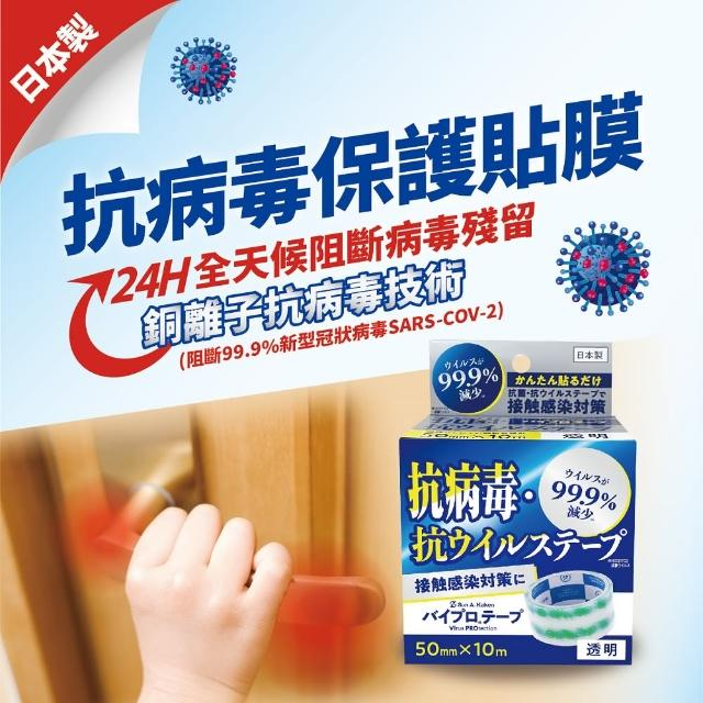 【日本製】抗病毒認證防護貼膜(日本製銅離子技術/電梯/防護)