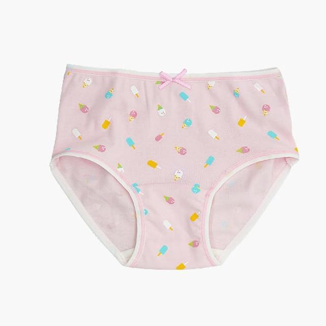 【annypepe】女童純棉冰淇淋三角褲-粉紅100-150