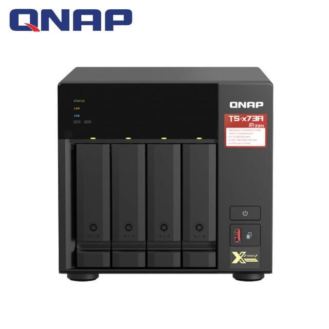 【QNAP 威聯通】TS-473A-8G 4Bay 網路儲存伺服器