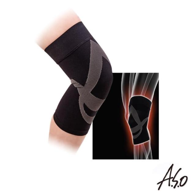 【A.S.O 阿瘦集團】遠紅外線減壓護膝(單個)