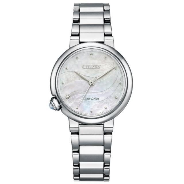 【CITIZEN 星辰】L系列 光動能時尚腕錶(EM0910-80D)