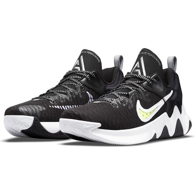 【NIKE 耐吉】籃球鞋 男鞋 運動鞋 包覆 緩震 GIANNIS IMMORTALITY EP 黑白 DC6927-010