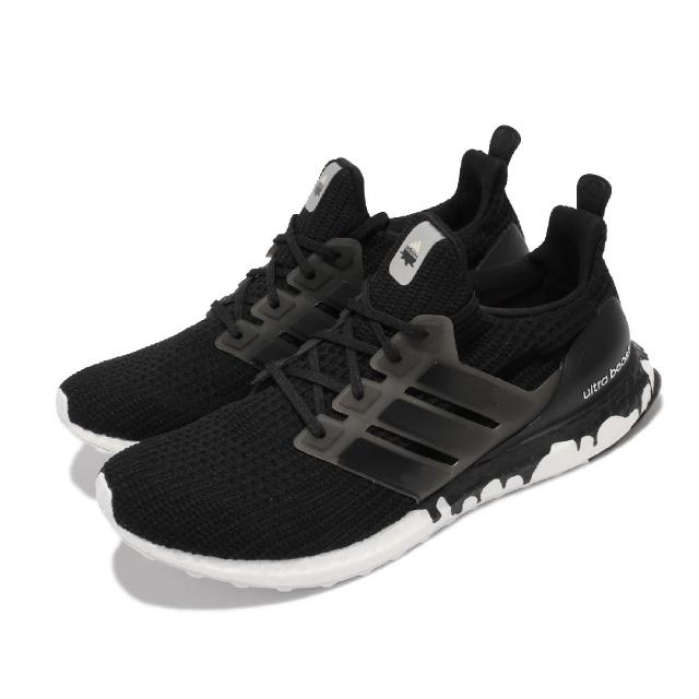 【adidas 愛迪達】慢跑鞋 UltraBOOST DNA 運動 男鞋 愛迪達 輕量 透氣 舒適 避震 路跑 健身 黑白(GZ3292)