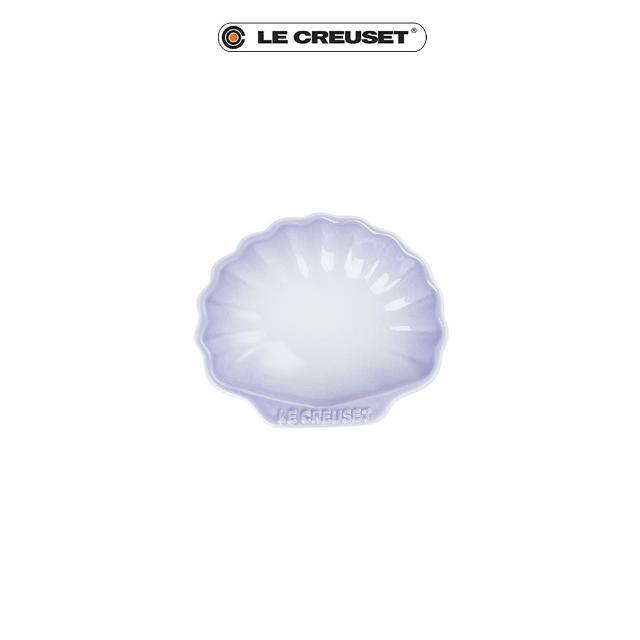 【Le Creuset】瓷器貝殼盤-小(淡粉紫)