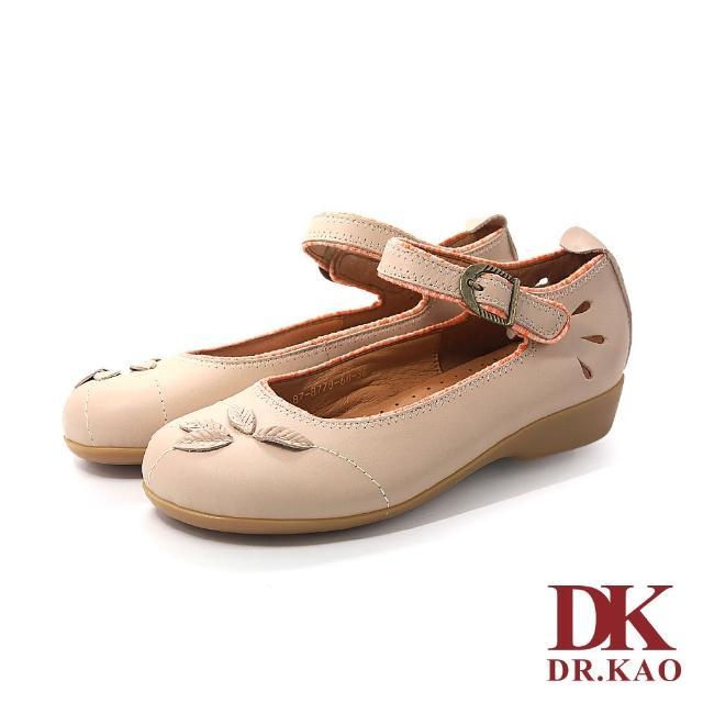 【DK 高博士】立體花瓣娃娃鞋 87-8778-60 米色