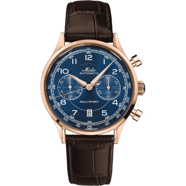 【MIDO 美度】先鋒系列傳承者計時腕錶(M0404273604200)